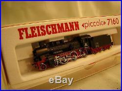 Fleischmann Piccolo 7160 Steam Engine German quality N scale