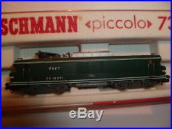 Fleischmann Piccolo Locomotive Electrique Sncf Echelle N