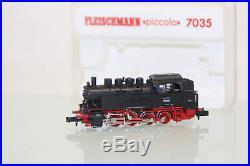 Fleischmann Piccolo N 7035 Dampflok BR 81 001 der DB neuwertig in OVP (SL5457)