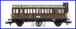 Fleischmann Piccolo'n' Gauge 7890 Prussian Passenger Train Limited Edition Set
