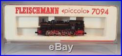 Fleischmann Spur N 7094 Dampflok Tenderlok BR 94 1730 der DB Nr. 1 OVP #6375