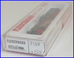 Fleischmann piccolo 7159 DRG Dampflok BR38 1373 OVP Spur N