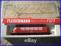 Fleischmann piccolo 7377 Intercity- Elektrolokomotive BR 103 197-0 DB
