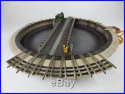 Fleischmann piccolo 9152 elektrische Drehscheibe mit 10 Gleisabgänge CH12485