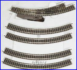 Fleischmann piccolo 9377 Spur N InterCity Start Set Schotterbett OVP (173407)
