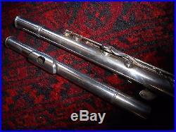Flute L. LEBRET Old boehm system silvered FLUTE