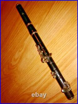 Flûte piccolo ancienne Paul Beuscher- antique old FLUTE PICCOLO Paul Beuscher