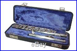 GEMEINHARDT 4RSP Piccolo #72489 / In Playable Condition With Case Need Work