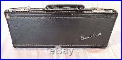 GEMEINHARDT ELKHART M2S SOLID SILVER FLUTE & PICCOLO CS Solid Silver Hard Case