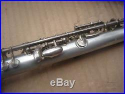 G. Rudolf Uebel Aluminium Piccolo Flute