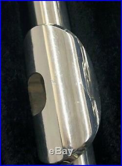 Gemeinhardt 4SH Silver Plated Piccolo with Sterling Silver Headjoint Used