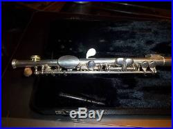 Gemeinhardt 4SP Silver Piccolo with hard case