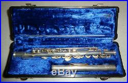 Gemeinhardt 4S Piccolo Silver with case Must See