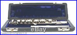 Gemeinhardt Elkhart Ind. Piccolo CSS 4SS Solid Silver Sterling 925 Instrument