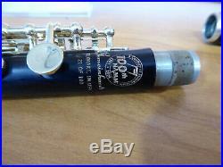 Gemeinhardt KG Professional Grenadilla Wood Piccolo Gold keys 100th NAMM #21/100