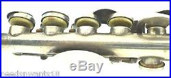 Gemeinhardt Piccolo Solid Silver Elkhart Ind. CSS 4SS Sterling 925 Instrument