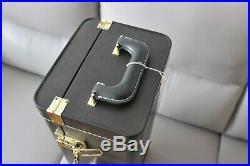 Genuine Yamaha Xeno OEM double trumpet wood case/Bach Stradivarius Bb C/Piccolo