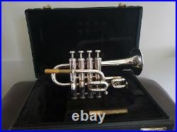 Getzen 940 Eterna Piccolo Trumpet in excellent condition + Blackburn leadpipes