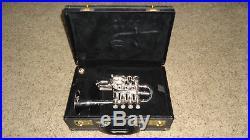 Getzen 940 Eterna Pro Silver Piccolo Trumpet Excellent