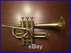 Getzen/Reynolds Piccolo Trumpet Project Horn