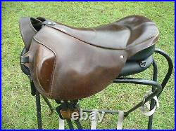 Ghost Treeless Saddle Quevis- 15 inch seat Piccolo