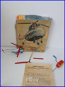 Helicoptere Sabena Piccolo Arnold 5400/395 France 50 Paris Bruxelles