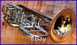 Handgemachte neuwertige Piccolo-Trompete Eckensberger Handmade in Germany