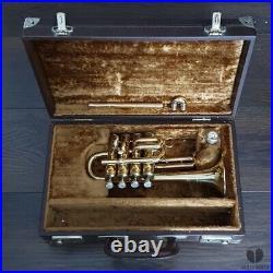 Henri Selmer Paris 365 Bb/A/G piccolo trumpet, case, mouthpiece GAMONBRASS