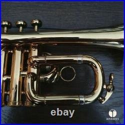 Henri Selmer Paris Bb/A piccolo trumpet MAURICE ANDRE GAMONBRASS