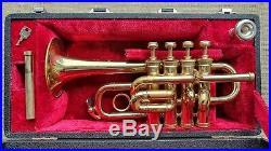 Henri Selmer Paris `Maurice Andre` Piccolo Trumpet, original case GAMONBRASS