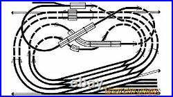 Huge Lot N Gauge Fleischmann Piccolo Track 30 Points 6 Curved Points 4 Radius