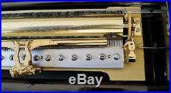 Huge Music Box Ba Bremond'mandoline Piccolo' Six Airs In Superb Case