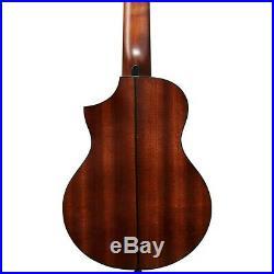 Ibanez EWP32FM Piccolo Acoustic Guitar Blue Burst 190839686855 Open Box