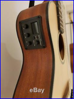 Ibanez Piccolo Guitar mini travel Guitar/Guitalele with built-in Pickup + Case