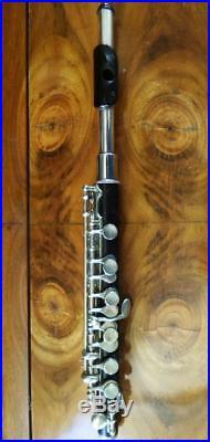JOHANN MOLLENHAUER HOLZ Piccolo Flöte Querflöte flute flauta