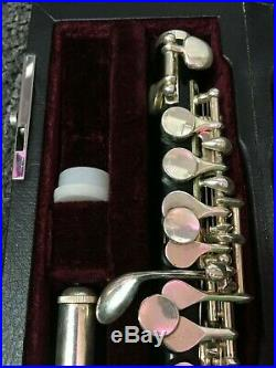 JZ Piccolo with hardshell case used AR684