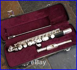 Jupiter Piccolo JPS-303 Taiwan Student Instrument With Hard Case Nice