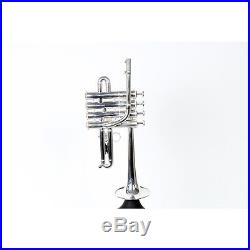 Kanstul 920 Series Bb / A Piccolo Trumpet 920-2 Silver 888365950839