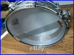 Kitano 14 × 3.5 Titanium Piccolo Snare with case Used