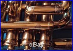 Lacquered Piccolo Selmer Trumpet 4 valves