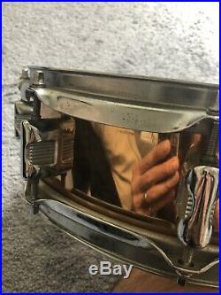 Legend Snare Drum 80s Brass 14x4 Vintage Rare