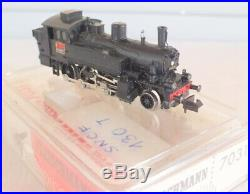 Locomotive vapeur SNCF 130 T Fleischmann 7031 Piccolo N 1/160