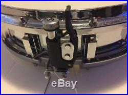 Ludwig 14 x 3 RARE COS Piccolo Snare Drum with 12 Lug Design Excellent