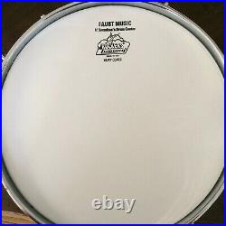 Ludwig (WFL) Buddy Rich 3x13 snare drum White Marine Pearl exc+ Minty Rare
