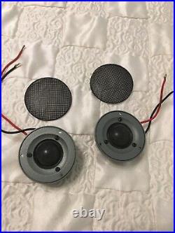 MOREL Supremo Piccolo Speakers HIGH END Tweeter pair
