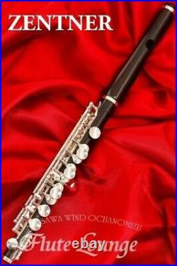M. Zentner Used Piccolo Zentner Made Of Tube Granadilla Flute Specialty Store