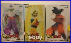 Medicom Toy real Action Heroes RAH Dragon Ball Super Saiyan Goku Piccolo Goku