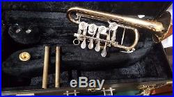 Melton Ideal (Scherzer) Rotary Piccolo Trumpet