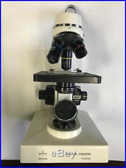 Microscope Monokulares Mikroskop Askania College Piccolo Rathenow ansehen