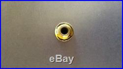 Monette AP6 Gold Plated A Piccolo Trumpet Mouthpiece